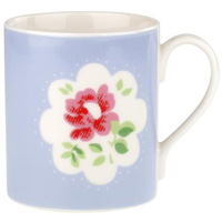 Cath Kidston Provence Rose Blue Tea/Coffee Mug