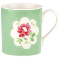 Cath Kidston Provence Rose Green Tea/Coffee Mug