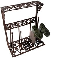Bird Silhouette Boot Rack