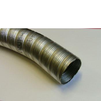 Stainless flue pipe for Truma fires. 55mm diameter