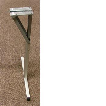 Folding Table Leg 660mm - Aluminium