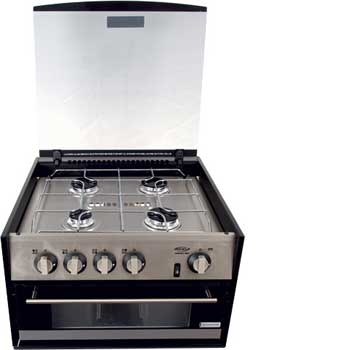 Spinflo Stainless Steel Mini Grill - 4 Burner