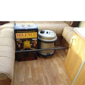 Milenco Cargo bar small