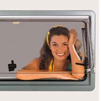 Seitz S4 Hinged windows 350 x500mm - 550 x 600mm
