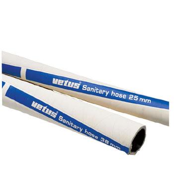Vetus Non permeable SBR sanitation hose Ø 25 mm inside