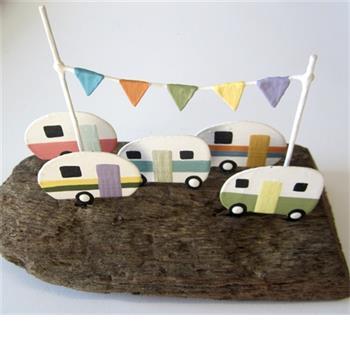 Wooden Caravan Motorhome Memories