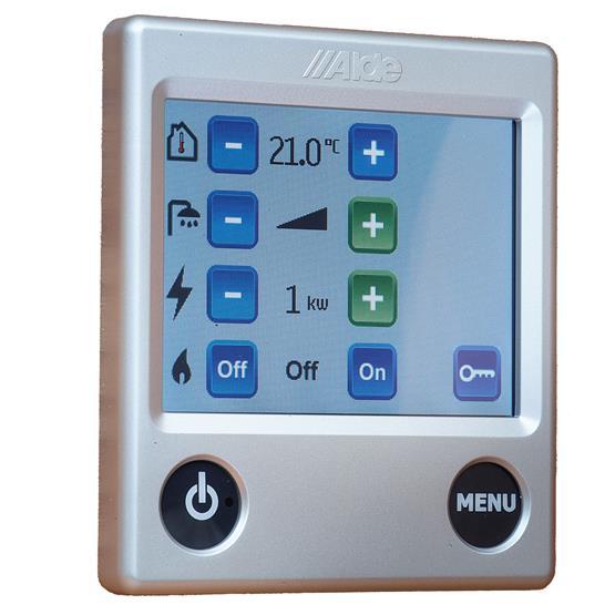Alde Colour touch control panel image 4