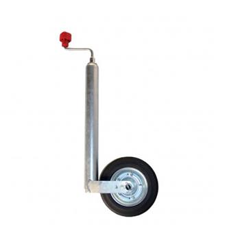 Alko Jockey wheel steel/rubber