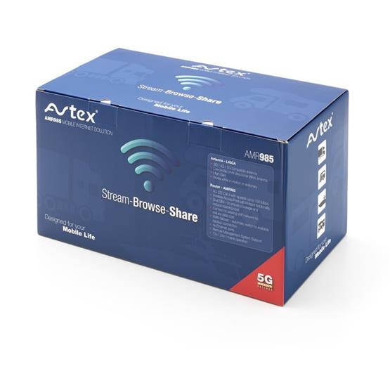 Avtex AMR985 Mobile internet solution for Caravans and Motorhomes image 7