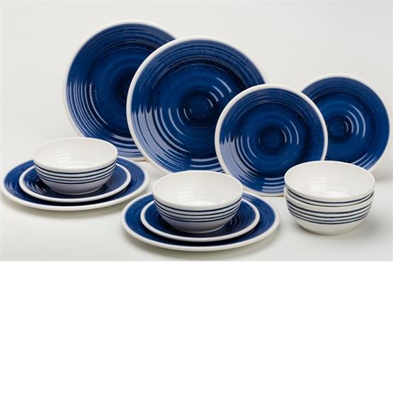 Azure 12pc Dinner set