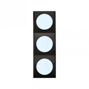 Berker  $$$pure$$$ design triple frame - gloss black