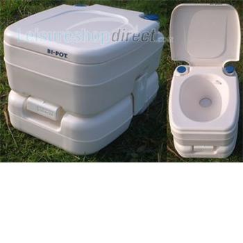 Fiamma Bi-Pot 30 Portable Toilet + Spare Parts