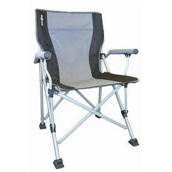 Brunner Raptor Folding Chair - Silver / Black