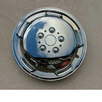 "Wheel trim 15"" Chrome Pack of 4"