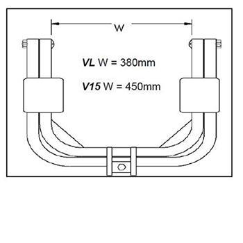 """Bulldog V15 Caravan Leveller for 15"""" Wheel image 3"""