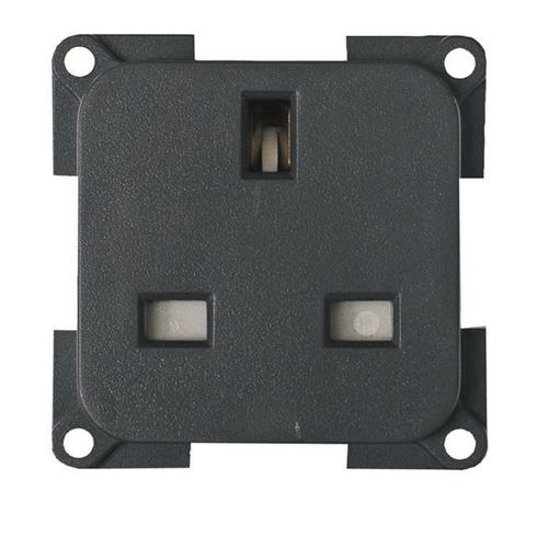 CBE 230V 3 Pin Socket - grey