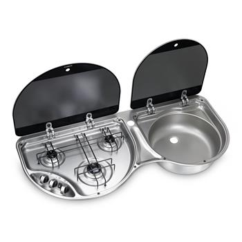 Dometic HSG3430 - 3 Burner Hob and Sink