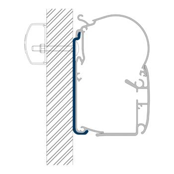 Dometic Perfectwall Awning Adapters