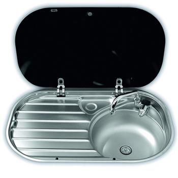 Dometic Smev VA8306R Caravan Sink with Drainer