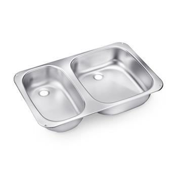 Dometic Smev VA945 Double Caravan Sink