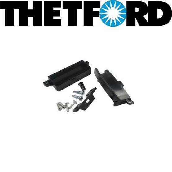 Thetford Door Latch for the Thetford Fridges - black image 2