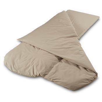 Duvalay Comfort 4.5 Tog Sleeping Bag Hollowfibre (Cappuccino)