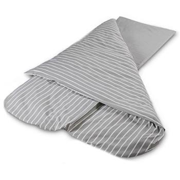 Duvalay Comfort 4.5 Tog Sleeping Bag Hollowfibre (Grey Stripe)