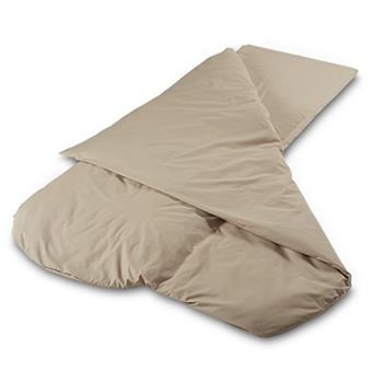 Duvalay Compact 4.5 Tog Sleeping Bag (Cappuccino)