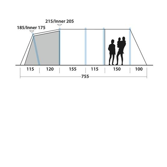 Easy Camp Arena 600 Air Tent image 18
