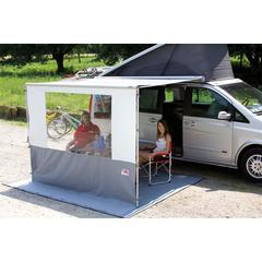 The Fiamma Blocker Pro is a front panel gives protection from the elements and a good degree of privacy.