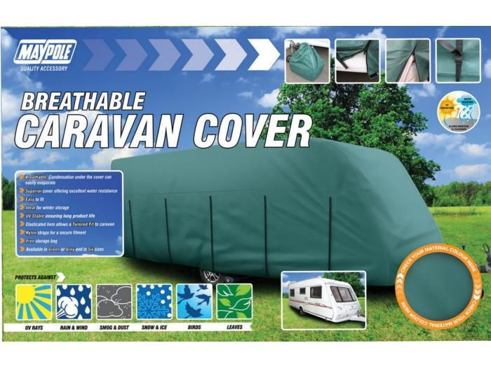 Maypole have a large range of caravan covers to keep your home away from home protected from the elements.