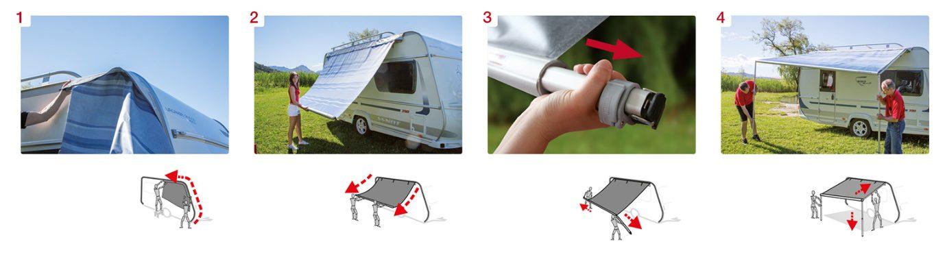 Fiamma Caravanstore Easy Installation