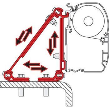 Fiamma Kit Multi-Bracket Adaptor image 1