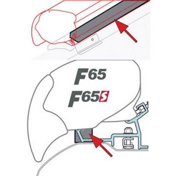 Fiamma kit rain guard F80/F65 image 1