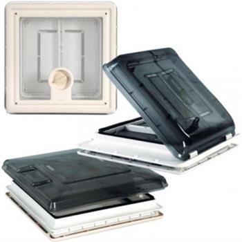 Fiamma Rooflight Vent 160 - 40 x 40cm - Crystal image 3
