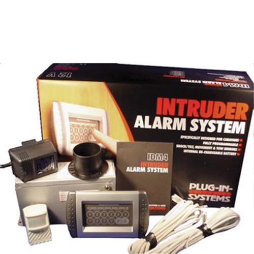 The IDM4 Intruder Alarm System.