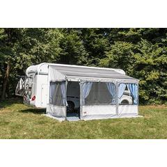The Fiamma Privacy Room is a selection of easily attachable panels, that create a fully enclosed room to give you and your loved ones privacy and extra living space.