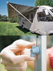The Fiamma secure lock allows you to change the height of the lead bar.