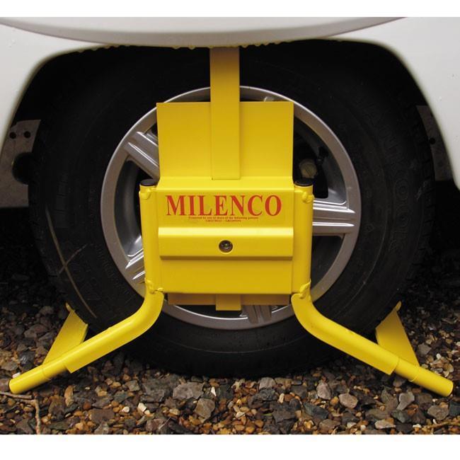 The Milenco original wheel clamp.
