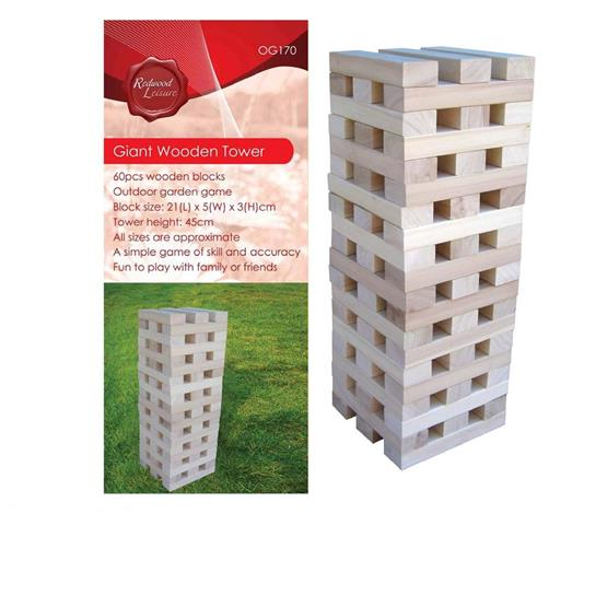 Giant Wooden Tower Outdoor playset