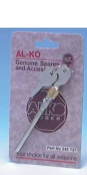 Integral Barrel Lock for Alko Stabiliser