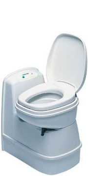 Thetford Toilet C-200S + Thetford C-200CS Cassette and Spares