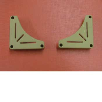 Table Storage Bracket White , Pair