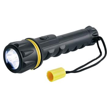 Heavy Duty Rubber LED Torch