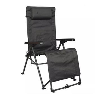 Isabella Freja Reclining Camping Chair (Dark Grey)