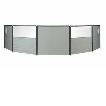 Isabella Wind Screen Flex panel with window Grey