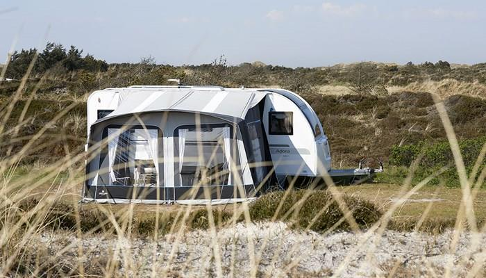 Pitch-up in beautiful places with the Isabella Venture Trinus Air Awning.
