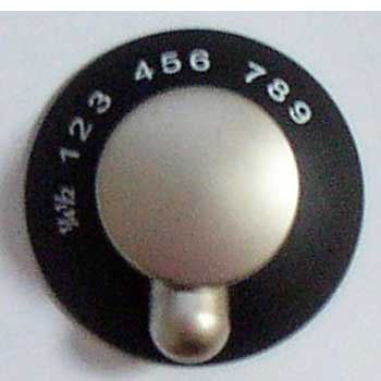 Spinflo Oven Knob Style 2 - Satin