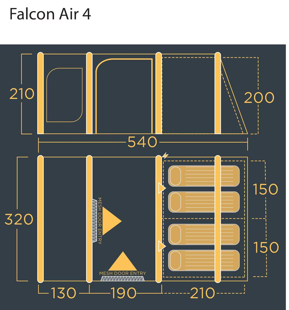 Lichfield Falcon 4 Floorplan