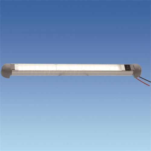 Lumo 24 LED Rotalite Metal Grey